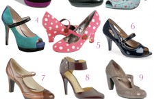 Cuter By The Dozen:  Mary Janes For Fall
