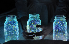 Glow in the Dark Star Jars