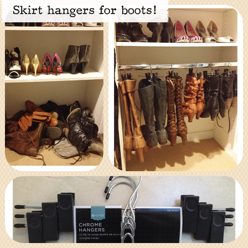 Ingenious Idea for Storing and Organizing Boots!