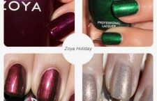Zoya colors for the holidays.