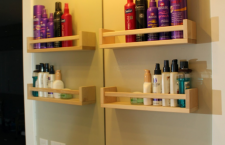 Spice Racks to Organize Bathroom Clutter