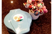 Bella Cucina cake pop and donut hole maker.  The easy way to make cake pops.