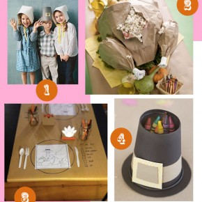 Set a Fun Thanksgiving Kids' Table