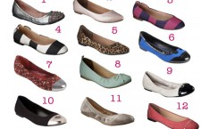 Budget friendly flats at Target in every shade and every style. Happy feet, happy wallet.