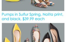 Prabal Gurung Collection at Target: Shoes!