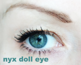 NYX Doll Eye close up